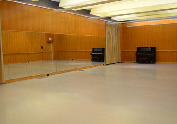 小丑舞蹈地胶:4号色铺装效果-米  色